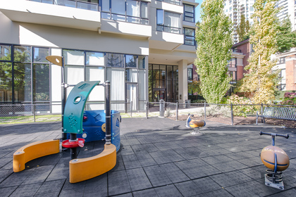 Children's play area at 904 - 928 Homer Street, Yaletown, Vancouver West