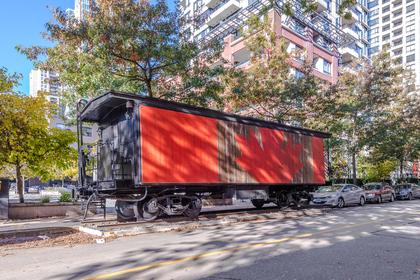 Heritage rail at 904 - 928 Homer Street, Yaletown, Vancouver West