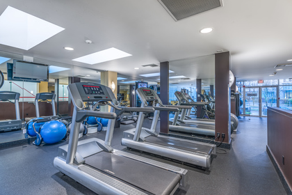 Gym at 806 - 550 Pacific Street, Yaletown, Vancouver West