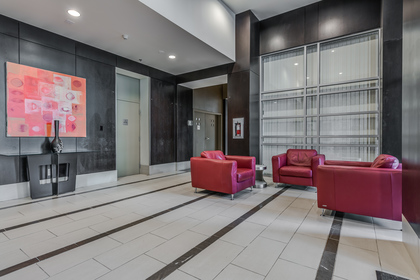 Building Lobby at 806 - 550 Pacific Street, Yaletown, Vancouver West