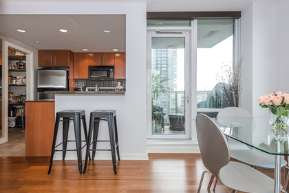 Kitchen at 806 - 550 Pacific Street, Yaletown, Vancouver West