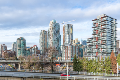 Views to the West North at 806 - 550 Pacific Street, Yaletown, Vancouver West