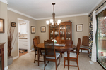 Dining Room at 20885 Meadow Place, Northwest Maple Ridge, Maple Ridge