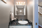 Powder room at 20885 Meadow Place, Northwest Maple Ridge, Maple Ridge