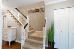 Stairs to upper level at 20885 Meadow Place, Northwest Maple Ridge, Maple Ridge