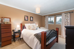Master bedroom at 20885 Meadow Place, Northwest Maple Ridge, Maple Ridge