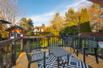Deck at 20885 Meadow Place, Northwest Maple Ridge, Maple Ridge