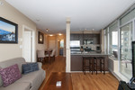 Living room/kitchen at 2508 - 892 Carnarvon Street, Downtown NW, New Westminster
