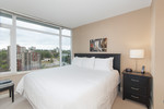 Master bedroom at 2508 - 892 Carnarvon Street, Downtown NW, New Westminster
