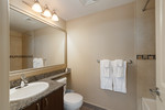 Ensuite bathroom at 2508 - 892 Carnarvon Street, Downtown NW, New Westminster