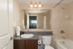 Bathroom at 2508 - 892 Carnarvon Street, Downtown NW, New Westminster