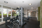 Fitness room at 2508 - 892 Carnarvon Street, Downtown NW, New Westminster