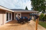 Sundeck table at 1091 Skana Drive, English Bluff, Tsawwassen