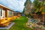 Garden at 1091 Skana Drive, English Bluff, Tsawwassen