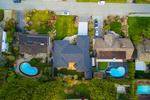 1091 Skana Aerial at 1091 Skana Drive, English Bluff, Tsawwassen