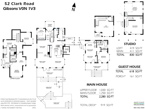 Floorplan at 52 Clark Road, Gibsons & Area, Sunshine Coast