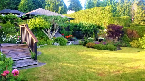 Front lawn at 52 Clark Road, Gibsons & Area, Sunshine Coast