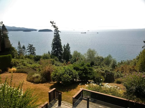 Bedroom view main house at 52 Clark Road, Gibsons & Area, Sunshine Coast