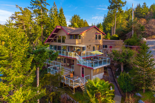 10054 Wescan Road, Secret Cove - Aerial Drone at 10054 Wescan Road, Halfmn Bay Secret Cv Redroofs, Sunshine Coast