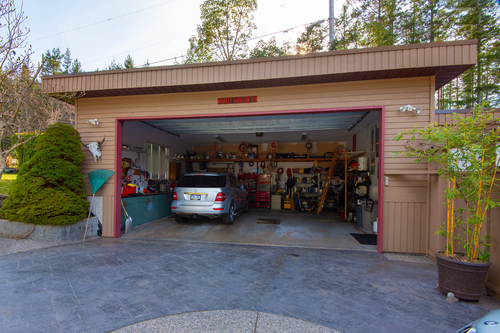 10054 Wescan Road - Garage at 10054 Wescan Road, Halfmn Bay Secret Cv Redroofs, Sunshine Coast