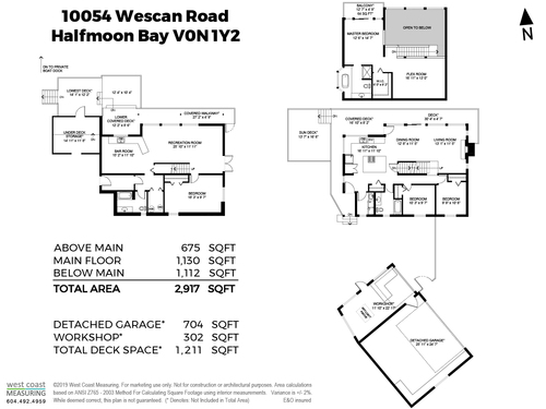 10054 Wescan Road - FLOORPLAN at 10054 Wescan Road, Halfmn Bay Secret Cv Redroofs, Sunshine Coast