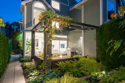 Pergola at 844 West 13th Avenue, Fairview VW, Vancouver West
