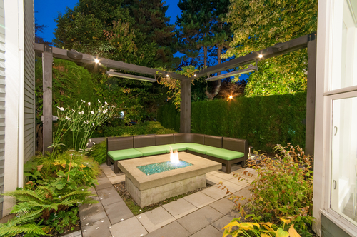 Firepit at 844 West 13th Avenue, Fairview VW, Vancouver West