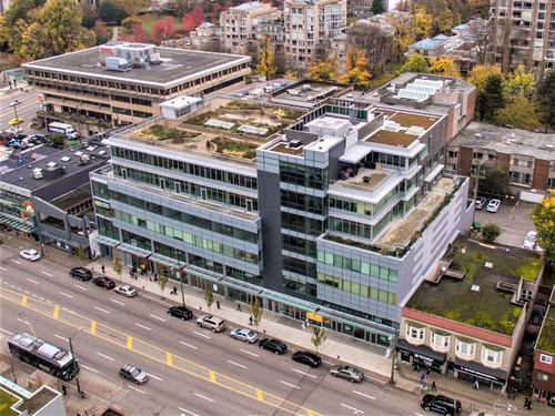 710 550 West Broadway - Aerial at 710 - 550 West Broadway, Fairview VW, Vancouver West