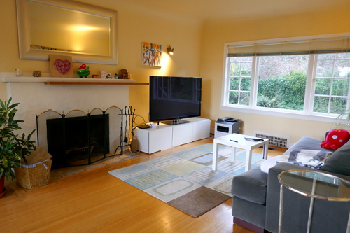 3271 Travers Avenue, West Vancouver, Living Room at 3271 Travers Avenue, West Bay, West Vancouver