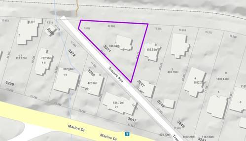 3271 Travers Avenue, West Vancouver, DWV MAP at 3271 Travers Avenue, West Bay, West Vancouver