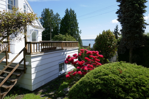 3271 Travers Avenue, West Vancouver - Deck at 3271 Travers Avenue, West Bay, West Vancouver