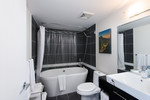 Master en-suite at 907 - 188 Keefer Place, Downtown VW, Vancouver West