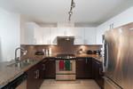 Gourmet kitchen at 1010 - 14 Begbie Street, Quay, New Westminster