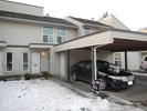 Front entrance / carport at 61 - 3030 Tretheway Street, Abbotsford West, Abbotsford