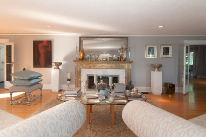 living room at 2967 Marine Drive, Altamont, West Vancouver