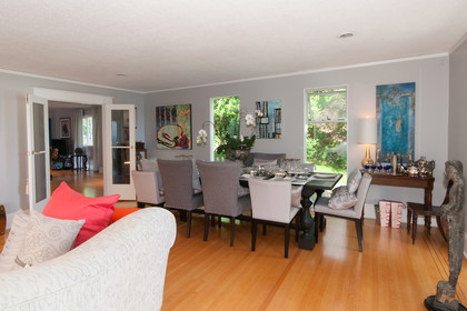 dining room at 2967 Marine Drive, Altamont, West Vancouver