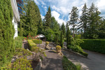 front yard at 2967 Marine Drive, Altamont, West Vancouver
