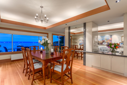Dining Area at 160 31st Street, Altamont, West Vancouver