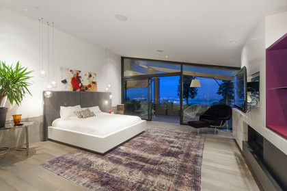 master bedroom at 1071 Groveland Road, British Properties, West Vancouver