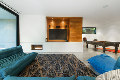 media room at 1071 Groveland Road, British Properties, West Vancouver