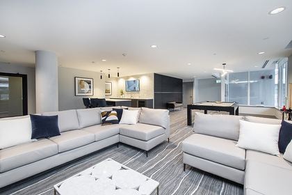 social room at 1406 - 118 Carrie Cates , Lower Lonsdale, North Vancouver