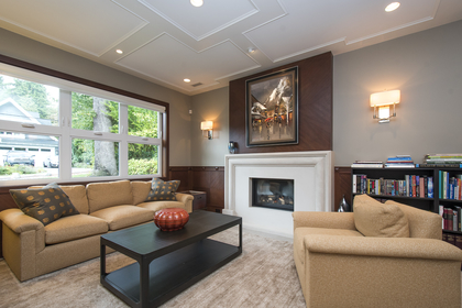 living room at 1250 Sinclair Street, Ambleside, West Vancouver