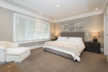 master bedroom at 1250 Sinclair Street, Ambleside, West Vancouver