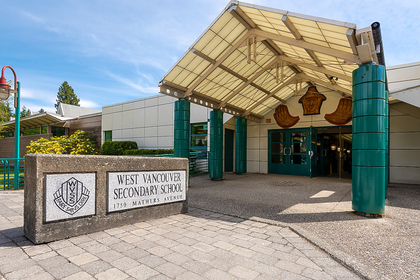 walking distance to West Vancouver Secondary School at 1328 Inglewood Avenue, Ambleside, West Vancouver