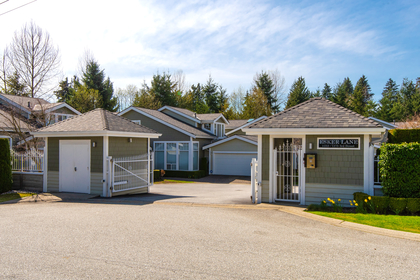 Esker Lane entrance at 1257 3rd Street, British Properties, West Vancouver