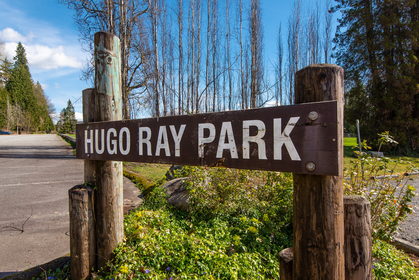 Hugo Ray Park across the street at 1257 3rd Street, British Properties, West Vancouver