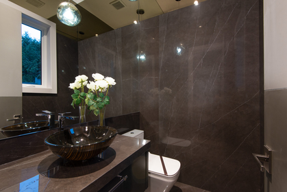 powder room at 557 -  St. Giles Road, Glenmore, West Vancouver