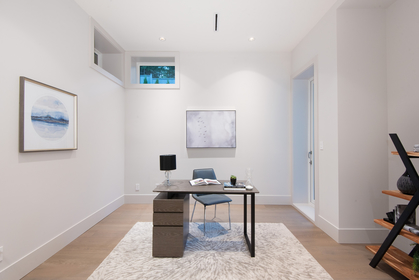 office or main floor master at 557 -  St. Giles Road, Glenmore, West Vancouver