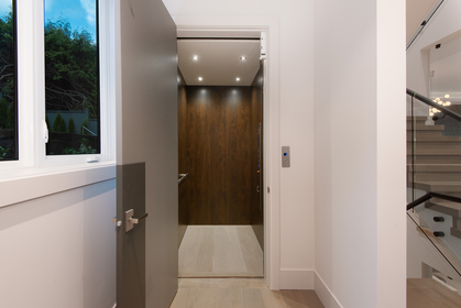 elevator at 557 -  St. Giles Road, Glenmore, West Vancouver
