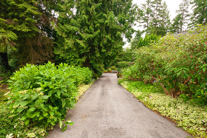 driveway at 3642 Mathers Avenue, Westmount WV, West Vancouver
